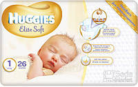Подгузники Huggies Elite Soft 1, 26x4