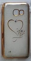 Силикон Beckberg Meizu M3 Heart (Rose gold)