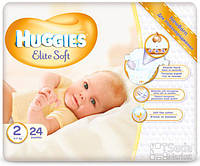Подгузники Huggies Elite Soft 2, 24x4