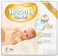 Подгузники Huggies Elite Soft 2, 80x2