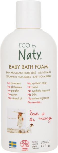 Органическая пена для ванны Eco by Naty 200 мл