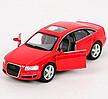 Машинка Audi F6 Kinsmart Красная