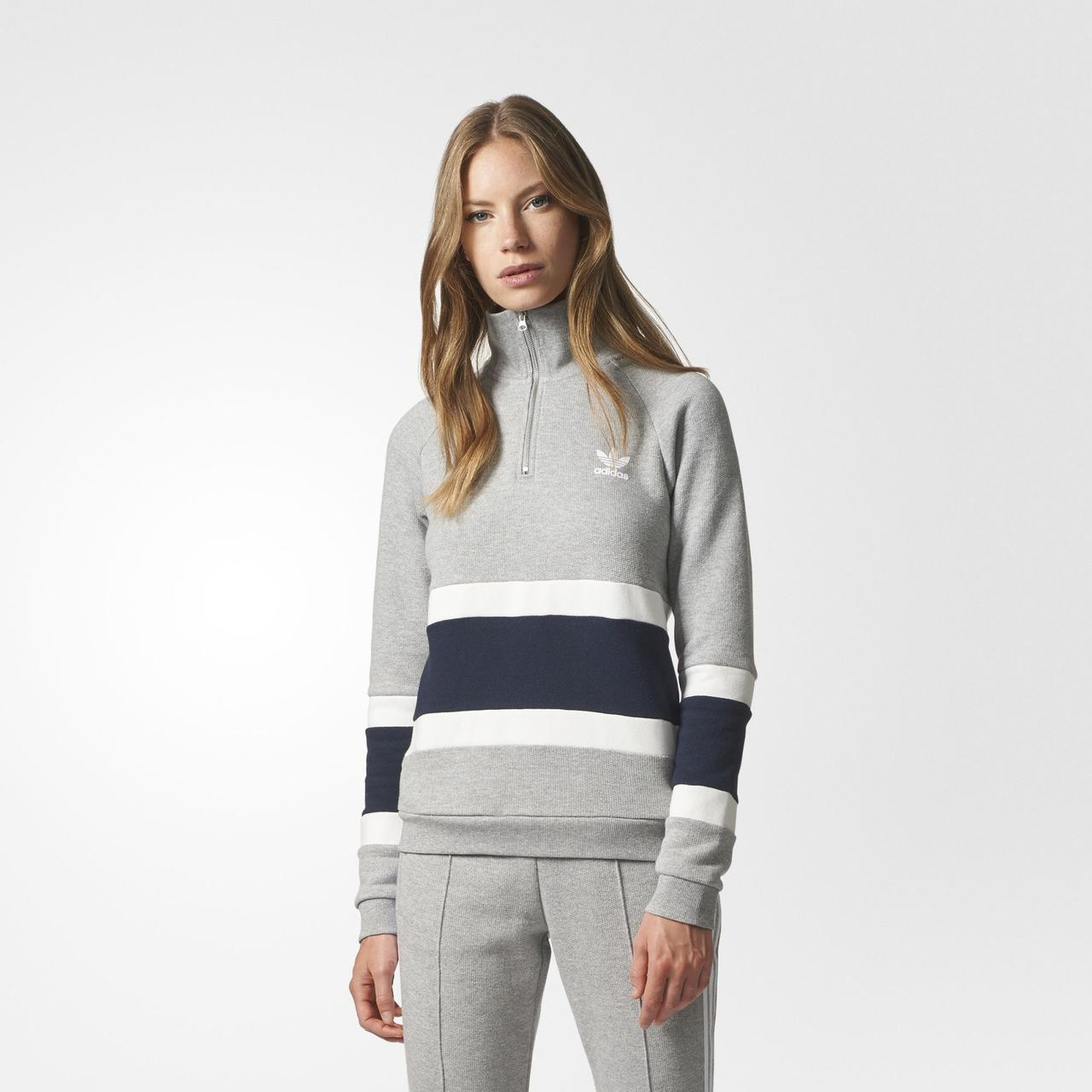 Женский джемпер Adidas Originals Half-Zip (Артикул: BS4302)