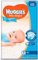 Подгузники Huggies Ultra Comfort Jambo (3) мальчик 56х3 (5029053565361)