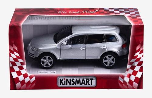 Машинка Volkswagen Touareg Kinsmart Серый