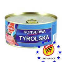 Tyrolska Konserwa — Свиная Консерва Тирольская, 300 Гр
