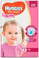 Подгузники Huggies Ultra Comfort Jambo (5) девочка 42х3 (5029053565392)