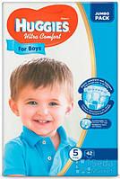 Подгузники Huggies Ultra Comfort Jambo (5) мальчик 42х3 (5029053565408)