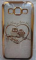 Силикон Beckberg Meizu M3E Owl (Gold)