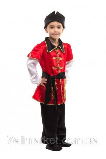 Карнавальный костюм Ивана Царевича, Гетьмана на мальчика 4-9 лет (Украина) купить оптом в Одессе на 7 км