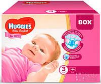 Подгузники Huggies Ultra Comfort Mega (3) девочка 144х1 (5029053565682)