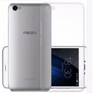 Силиконовый чехол Meizu U10 (прозрачный)
