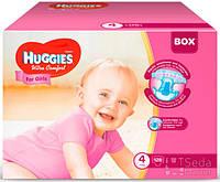 Подгузники Huggies Ultra Comfort Mega короб (4) девочка 128х1