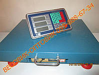 Весы электронные платформенные 300 кг Nokasonic TCS-R2 Wi-Fi 500х400мм (дел. 50 и 100г)