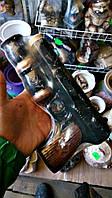 """Штоф пистолет """"Стечкина"""", бутылка в виде пистолета + 2 стопки"""