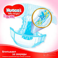 Подгузники Huggies Ultra Comfort в коробе (5) девочка 84x1 (5029053565668)