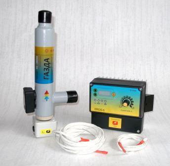 Комплект - котел электродный «ГАЗДА» КЕ-1-4,0 и автоматика KROS-5