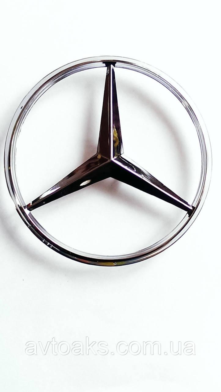 Эмблема Mercedes ровная 90мм.