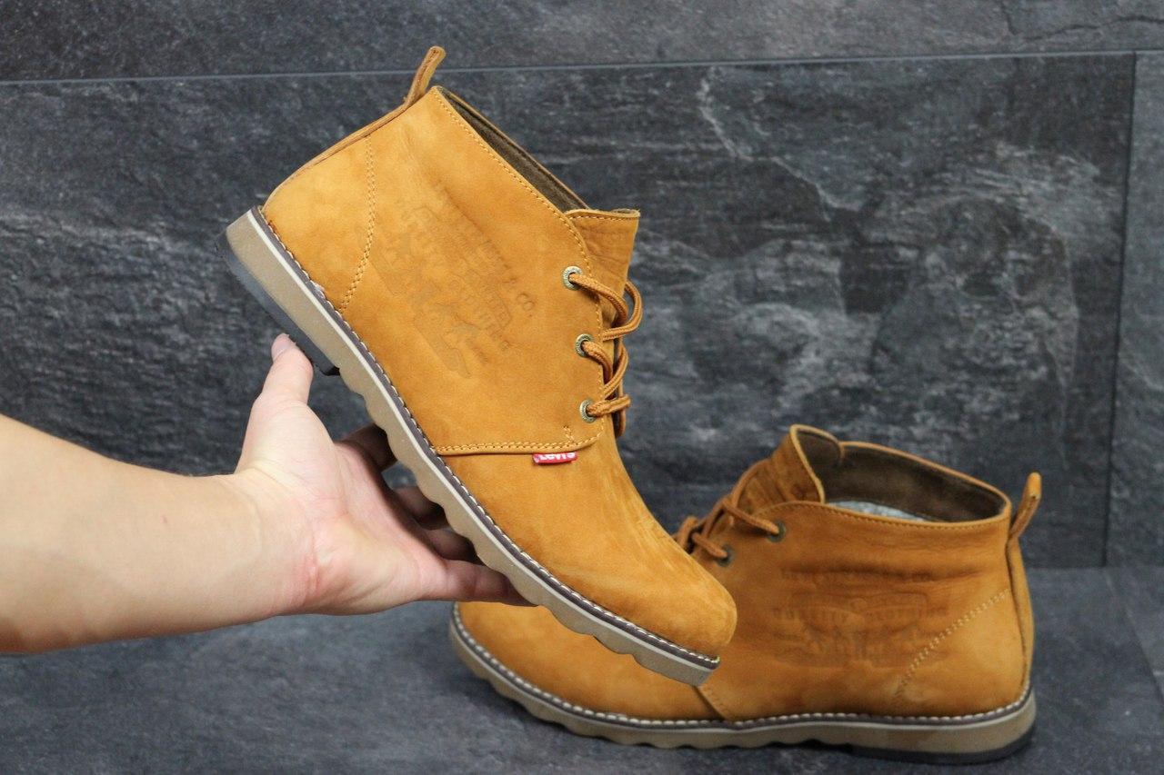 4470272f Мужские зимние ботинки Levi's рыжие 3425, цена 966,01 грн., купить в  Хмельницком — Prom.ua (ID#598030632)