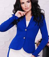 Женский приталенный однобортный пиджак(Elvira fup)