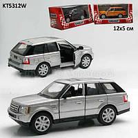 Машинка Range Rover Sport Kinsmart Серый