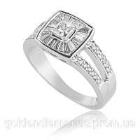 Золотое кольцо с бриллиантами С15Л1№3