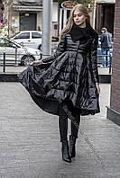 Безумно красивый пуховик-платье для принцесс