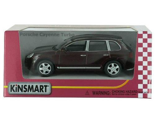 Машинка Porche Cayenne Turbo Kinsmart Вишневый