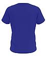 Футболка мужская синяя, фото 2
