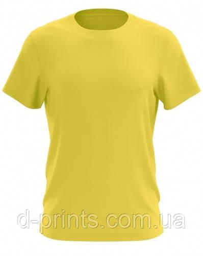 Футболка мужская желтая Premium
