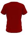 Футболка мужская красная Premium, фото 2