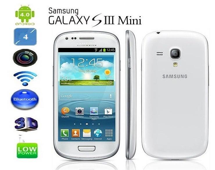 """SAMSUNG Galaxy S3 mini 1SIM Android 4.0.2 LSD 4"""" Wi-Fi"""