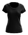 Футболка жіноча чорна 100% cotton, фото 7