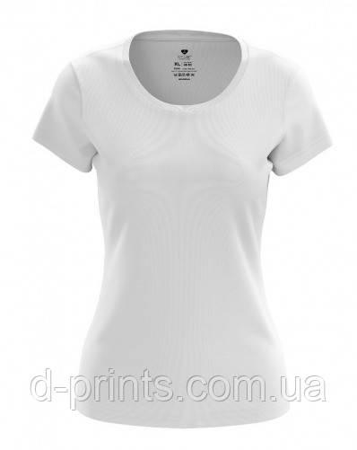 Футболка женская белая 100% cotton