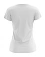 Футболка женская белая 100% cotton, фото 2