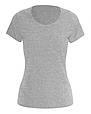 Футболка женская серая 100% cotton, фото 5
