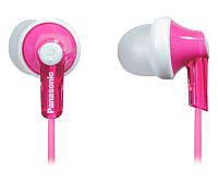 Наушники Panasonic RP-HJE118GU-P Pink, Mini jack (3.5 мм), вкладыши, кабель 1,1 м