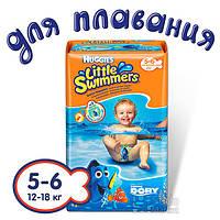 Подгузники-трусики Huggies Little Swimmer 5-6 11x8 EU (5029053538426)