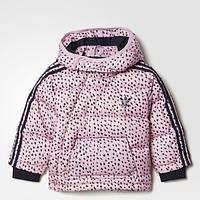Детский пуховик Adidas Originals 3-Stripes Dots (Артикул: BQ4421)