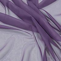 Тюль Вуаль фиолетовый