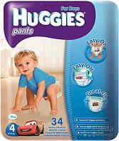 Подгузники HUGGIES Pants Джамбо Мальчик 4, 34шт (5029053544328)