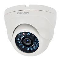 Внутренняя купольная аналоговая камера видеонаблюдения QIHAN QH-504C-4