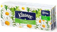 Носовые платки Kleenex с ароматом ромашки 10х10 шт