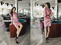 Платье длины мини, материал стрейчевый бархат, разные размеры., фото 1