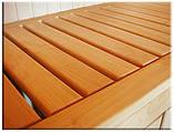 Лежак для сауны 80*40 мм, липа 2,2 м, фото 5