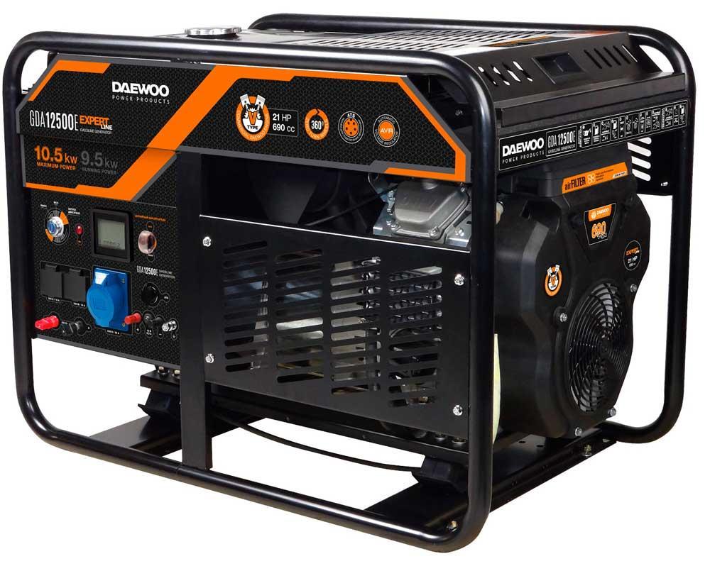 Бензогенератор Daewoo GDA12500E