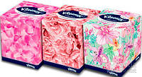 Салфетки Kleenex в коробках Collection cube 100x24 (5029053542812)