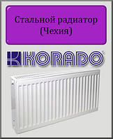 Стальной радиатор KORADO 22 тип 300х2300 (боковое подключение)