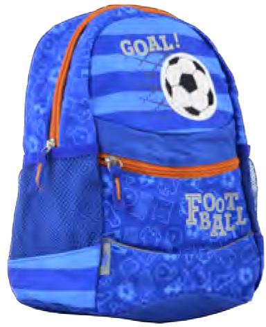 Рюкзак детский K-20 Football, 29*22*15.5 555503 YES