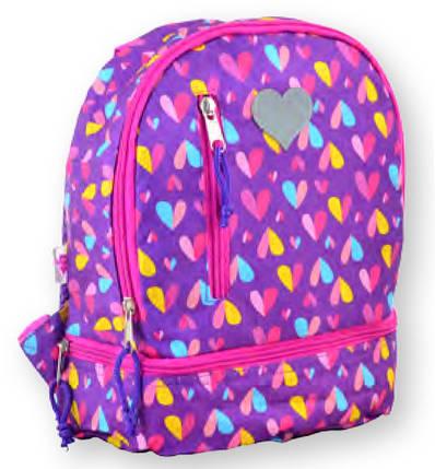 Рюкзак детский K-21 Hearts, 27*21.5*11.5 555314 YES, фото 2